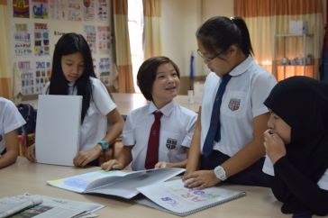 Speaking and listening activities at Regent's International School Bangkok