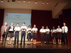 Regent's International School Mathematics Awards
